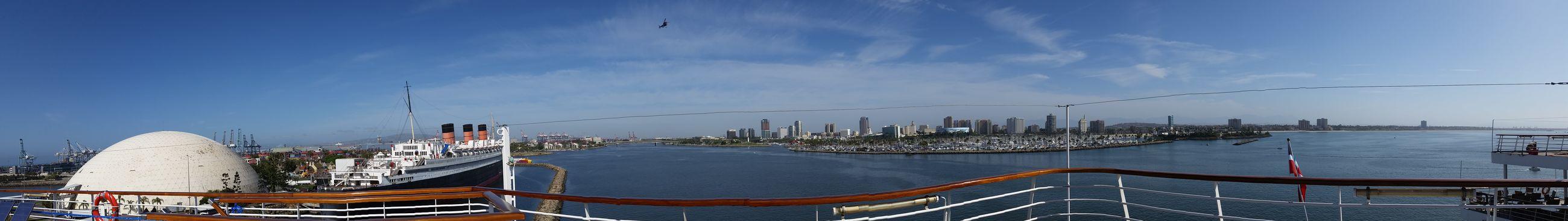 Panorama Panoporn LBC Downtown Long Beach  Cruisetime Shoreline