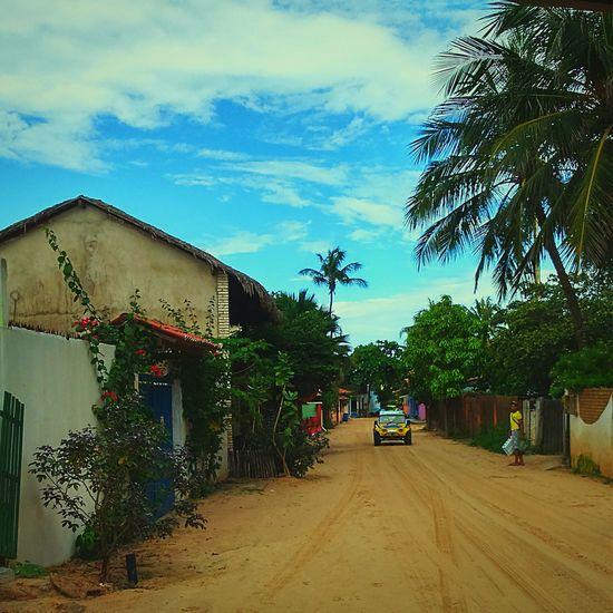 The Traveler - 2015 EyeEm Awards Travel Walk Vila Jericoacoara Shot Simple Life Peaceful Place