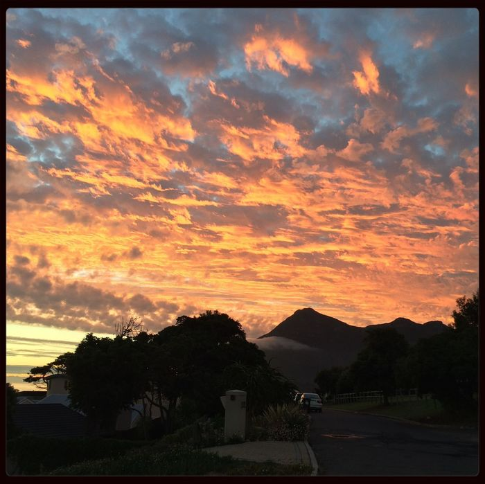Love my hood Noordhoek Cape Town Sunset