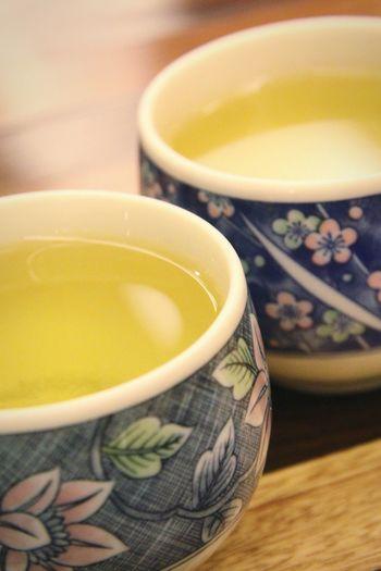 Close-up of tea in bowl