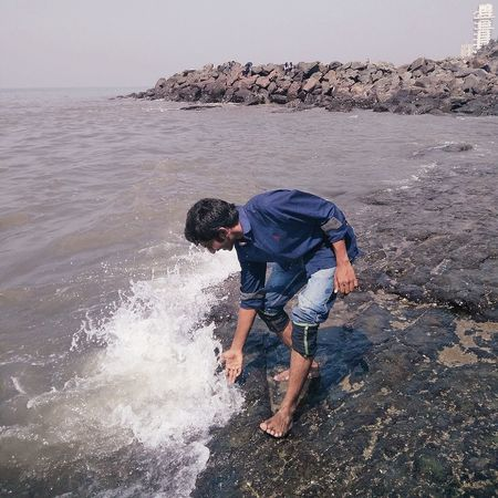 Bandra Fort MumbaiDiaries Playing With Water 💃💃💃💃 Awesome_shot