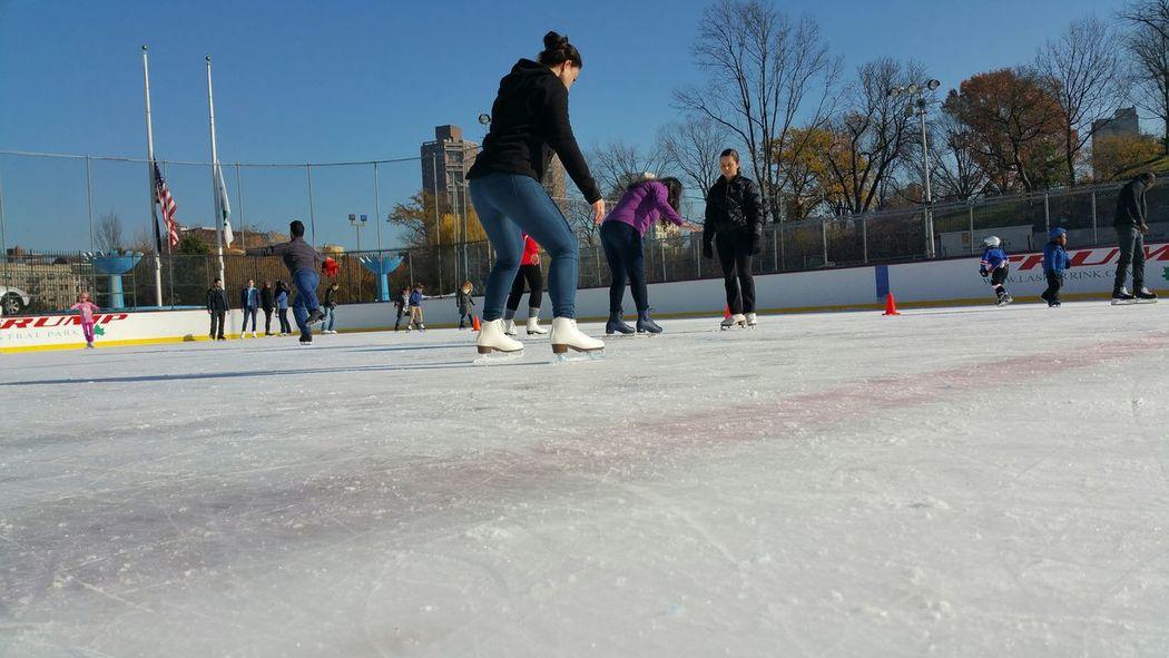 Ice Skating Lasker Rink