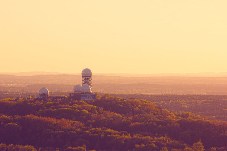 Abhörstation Teufelsberg Beauty In Nature Berlin Deutschland Growth Hill Horizon Over Land Idyllic Landscape Mountain Nature No People Non-urban Scene Orange Color Outdoors Remote Rural Scene Scenics Sky Sunset Tranquil Scene Tranquility Travel Destinations Adventure Club Colour Of Life