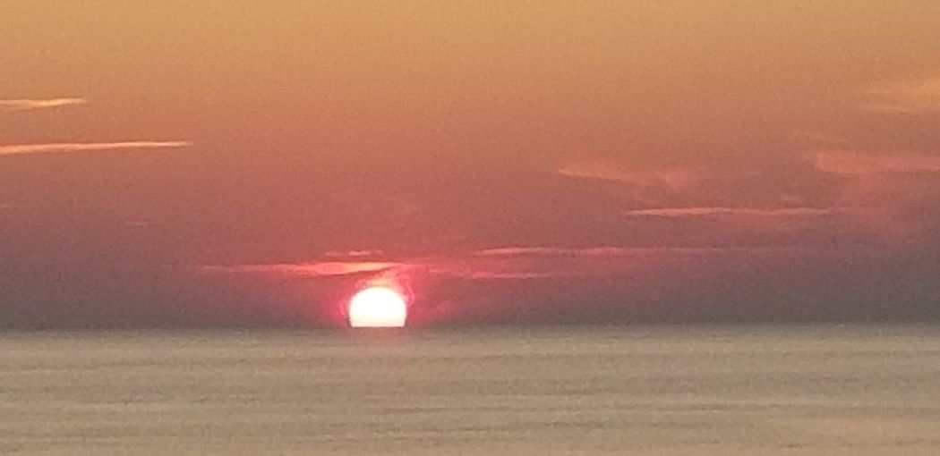 Sunset Red Sun