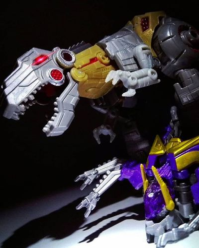 Squashing Bugs Transformers Hasbro Autobots Dinobots Grimlock Decepticons Insecticons Kickback Toyphotography Toyphotogallery