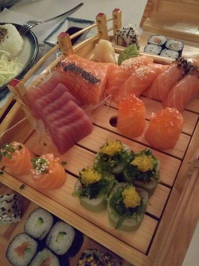 Sushi Close-up