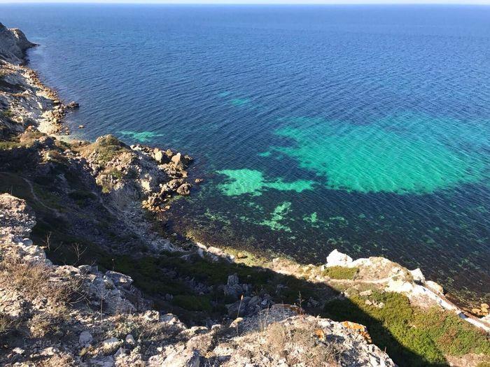 The sea shore. Sea Nature Water Scenics Tranquil Scene Beauty In Nature Day No People Horizon Over Water Beach Blacksea Cape  Cape Tarkhankut Black Sea
