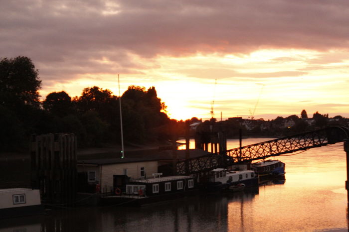 #Hammersmith #london #thamesriver Architecture Beauty In Nature Boathouse Cloud - Sky Day Moored Nature Nautical Vessel Outdoors Reflection Sailing Scenics Sea Silhouette Sky Sunset Tranquil Scene Tranquility Tree Water Waterfront Yacht