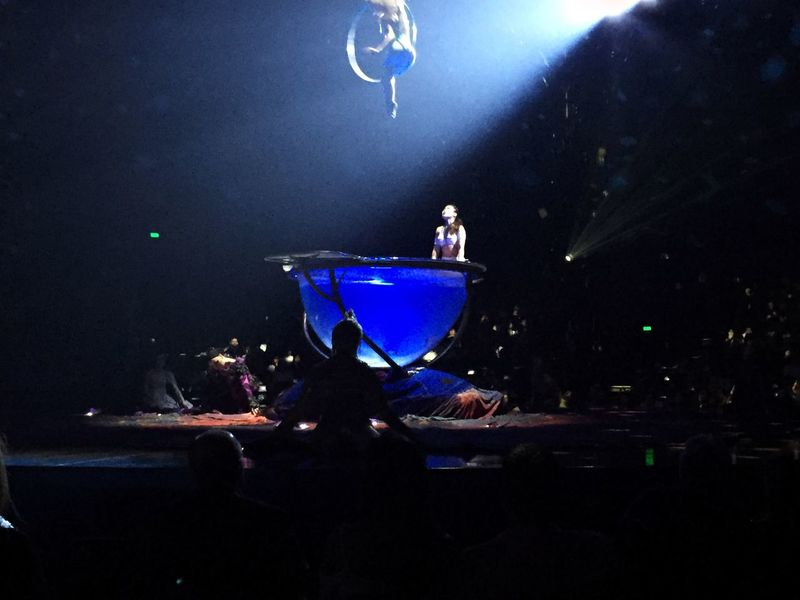 Night Indoors  Cirque Cirque Du Soleil Amaluna Circus Iphoneonly IPhoneography Entertainment