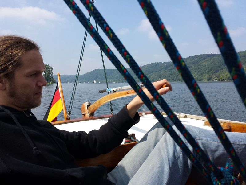 Sailing Relaxing Lovely Weather Ruhrgebiet Boats Folkeboot