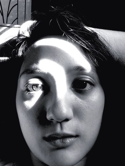 Natural Light Portrait Self Portrait Blackandwhite Monochrome Light And Shadow Sunshine That's Me Morning face