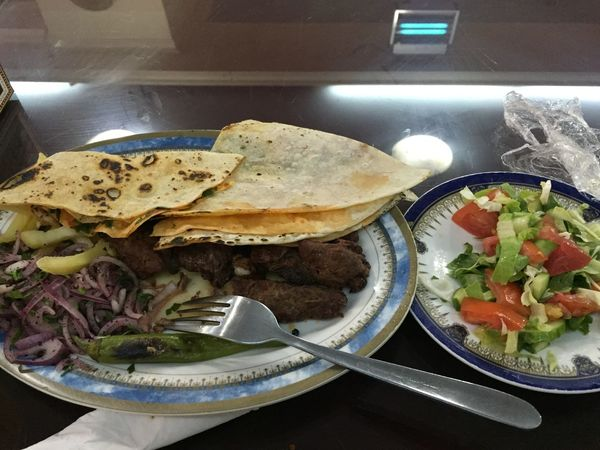 Kebab Turkish Meal