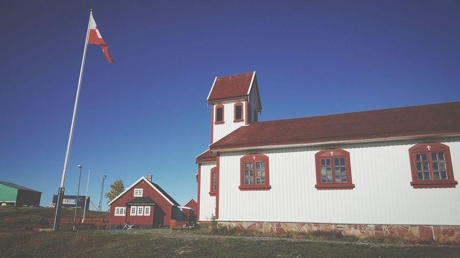 Narsaq Southgreenland Greenland Chirch Greelandicflag Baptized