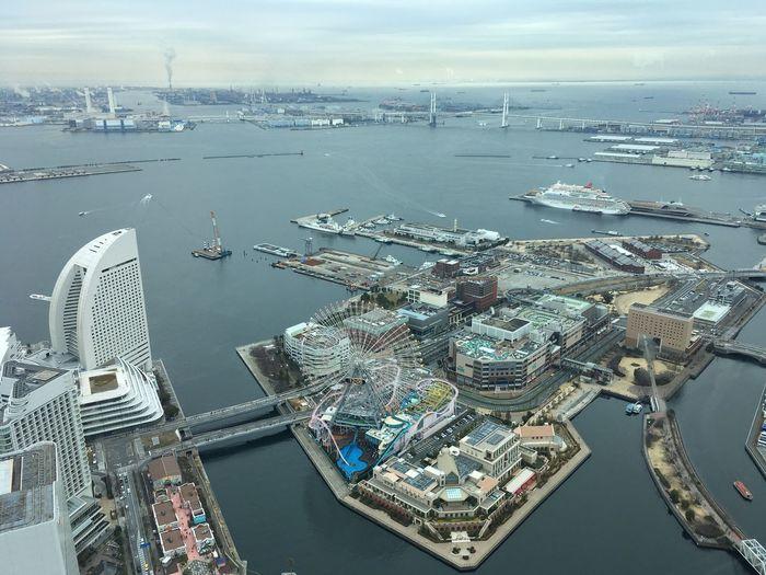 Urban Geometry Landscape Water Sea Nautical Vessel Architecture Building Exterior High Angle View City Cityscape Built Structure Harbor