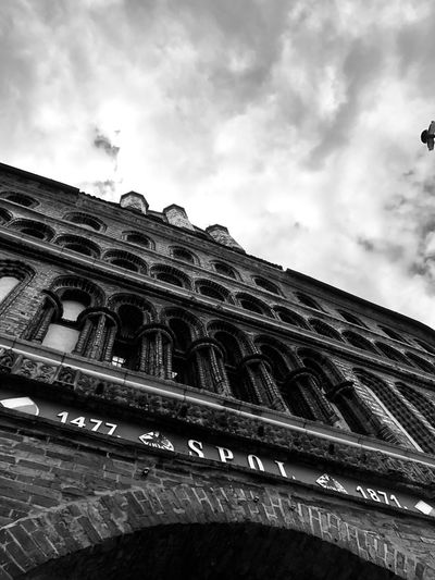 Sky Low Angle View Cloud - Sky Architecture Built Structure Building Exterior Nature Building Travel First Eyeem Photo