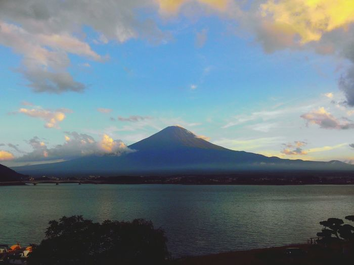 Mauntain Clouds And Sky Fujiyama Relaxing