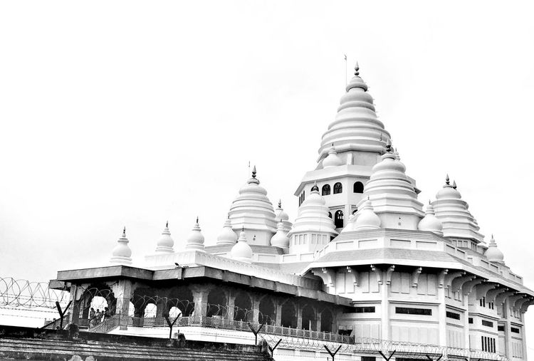 Travel Destinations Dehu Spirituality Religion Architecture Pagoda Tourism Building Exterior Built Structure Low Angle View Outdoors No People Place Of Worship Black And White Friday