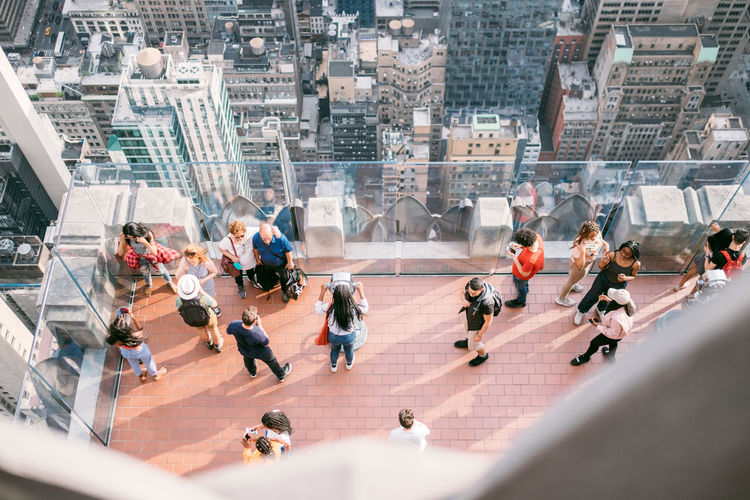 Group Of People Crowd Architecture City Large Group Of People Building Exterior High Angle View Men Built Structure Real People Women Day Walking City Life Building Adult Outdoors Sunlight Nature