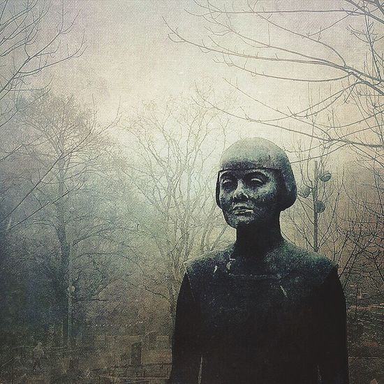 Karinboye Statue Winter Mextures Edited