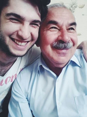Ağsaqqalnan selfi...))