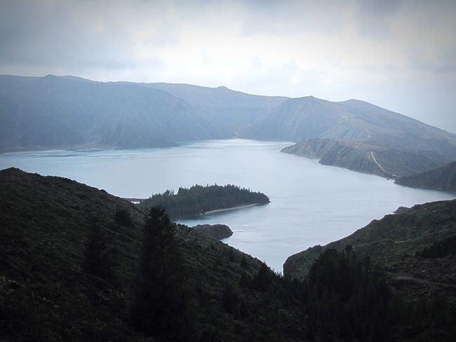 Nature Lagoon Landscape Water Water Reflections Adventure Enjoying The View Azores Portugal