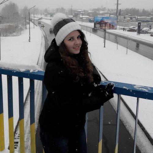 Snow ❄ Kiev Ukraine First Snow Hello World