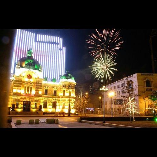 Happy Chinese New Year! Dalian Chinesenewyear Yearofthehorse Zhongshansquare