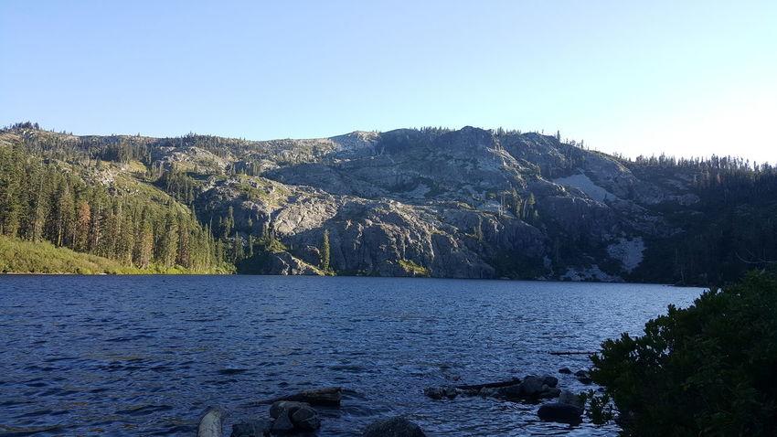 Castle lake. Castle Crags Mt Shasta
