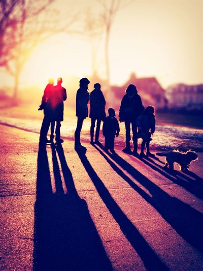 A gathering. Light Up Your Life EyeEm Best Shots Eye4photography  Silhouette