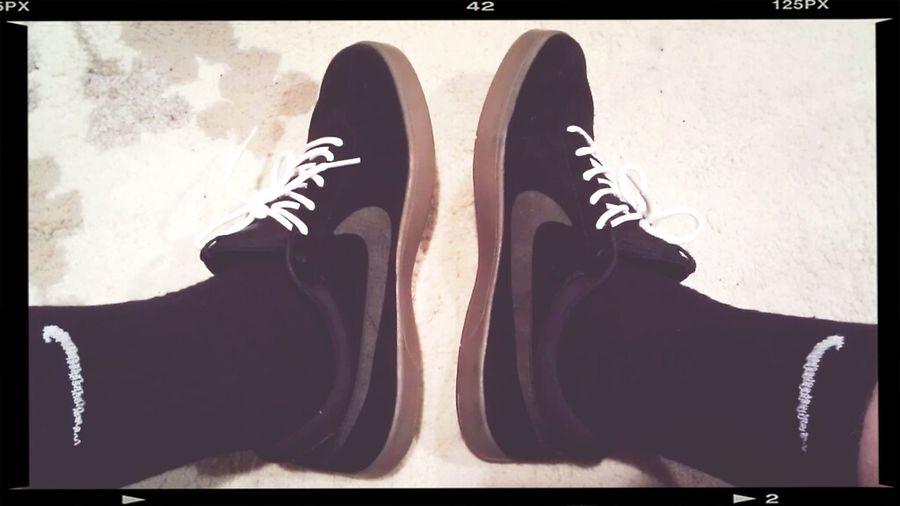 Koston's On The Feet.