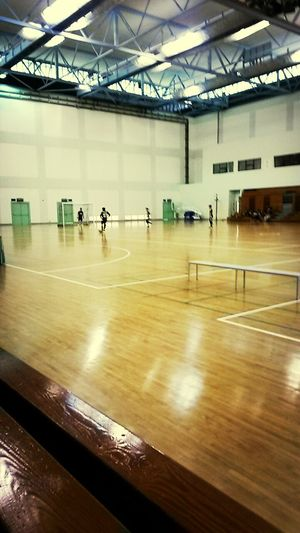 Playing Futsal Going To Get Wet for today..