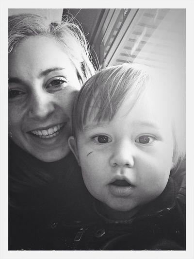 My nephew & me. Total B.