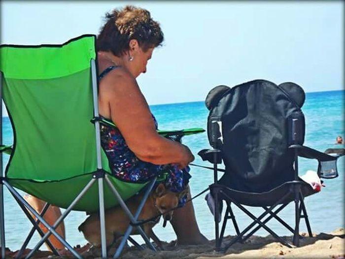 seat for two (part I) Seaside Sea Summer2015 Summer Dogs People And Places