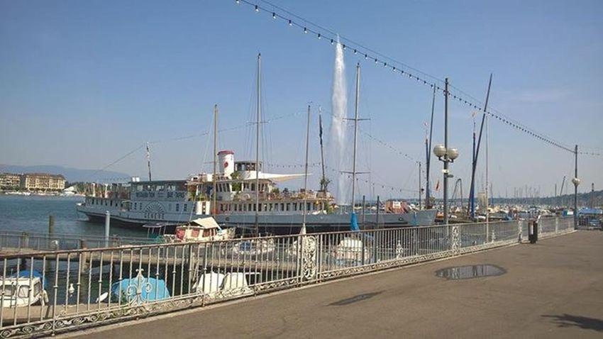 Genève : Les bords du Lac Léman