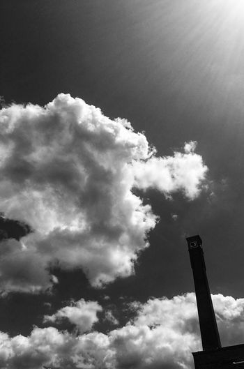 Clouds Architecture Blackandwhite Art is Everywhere Cloud - Sky Sky Low Angle View No People Nature Architecture Day Built Structure Silhouette Outdoors Building Exterior Industry
