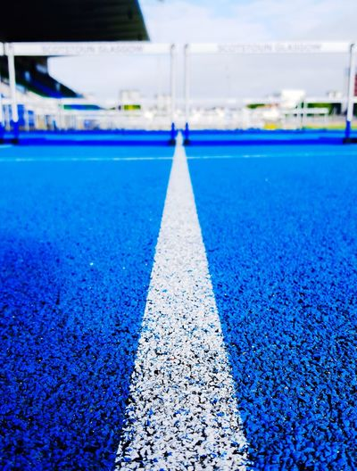 The Line Water Blue Sky Close-up Straight Track And Field Stadium Track And Field Event Track Starting Block Track Event Sprinting Track And Field Athlete Track And Field Dividing Line Running Track Sports Track
