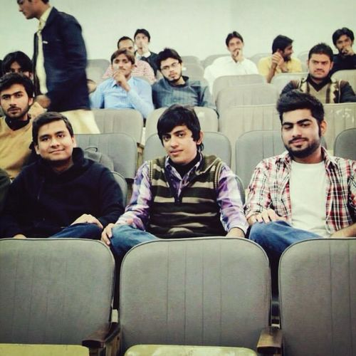 Me At Conference With Friends