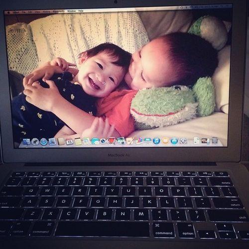 Macbookair Newlaptop Hardworkpaidoff ❤️👍
