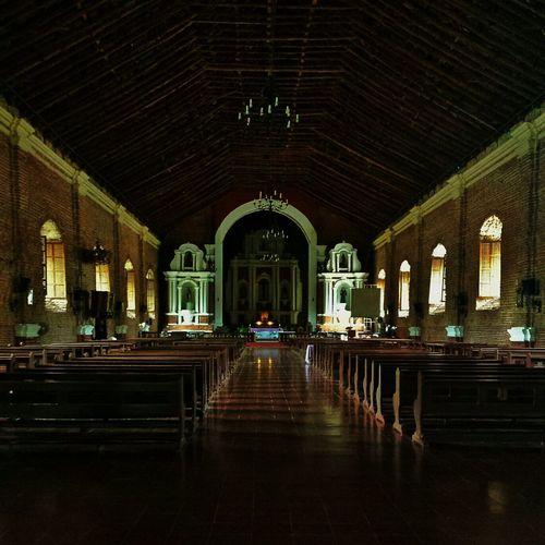 aisles and altar behind closed doors    Light And Shadow Pilipinas History Darkness And Light