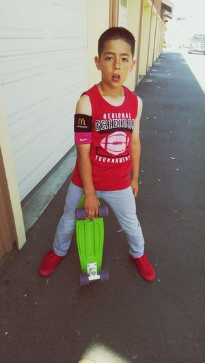 """Skateting is fun"""" Check This Out my son :) Esteban"""