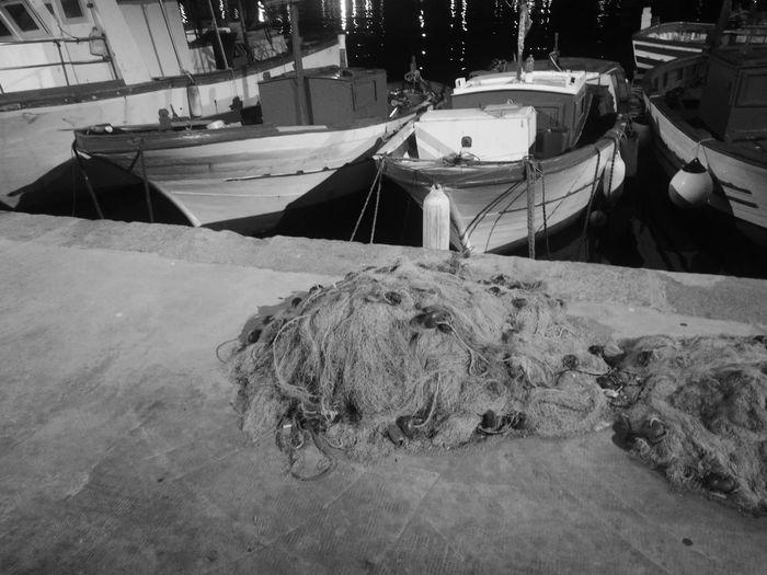 No People Fishing Tackle Reti Da Pesca Retedapesca Boat Water Fishing Equipment Sicily Sicilia Notte Italia Isoladellefemmine Siciliabedda Sicilyphotography Siciliamia Ilovesicily Barche Al Molo Porto Porticciolo Barche Da Pesca Porticciolo Isola Delle Femmine Bianco E Nero Italia Bianco E Ner[a:EyeEm Team Fotosiciliainbiancoenero Lancitedda EyeEmNewHere