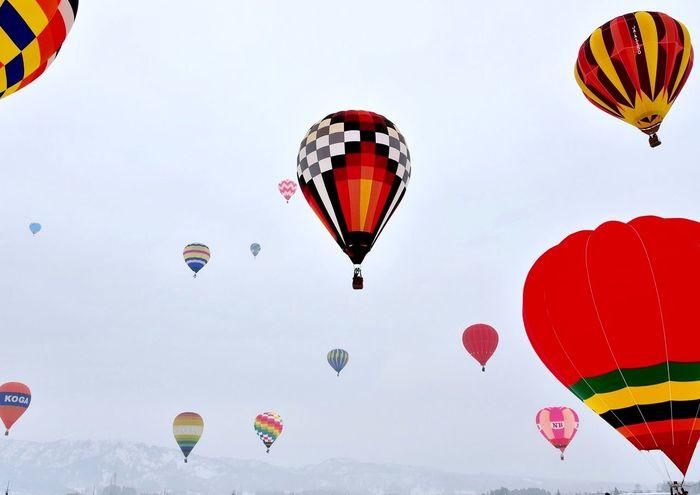 風船一揆‼︎ Balloons Japan Festival Happyholidays