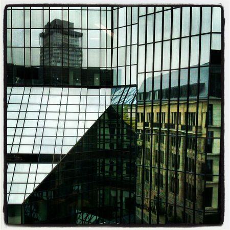 Architecture Built Structure Credit And Debit Deutsche Bank Frankfurt Pattern Tower Window
