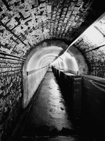 Tunnel Architecture Gaol Mystery Belfast Abandoned