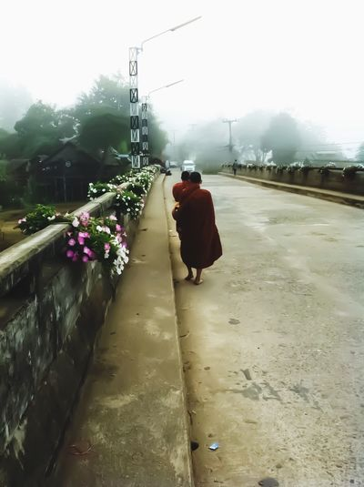 u'll never walk alone Outdoors Nature Nature Cultures Temple Monk  Buddha Belive