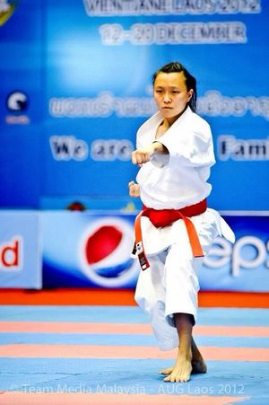 Alternative Fitness Karate Karategirl INDONESIA Asian University Game
