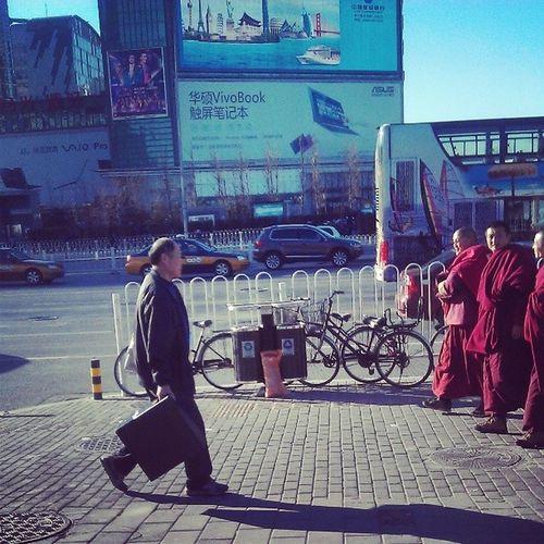 A typical view in Zhongguancun ? Beijing