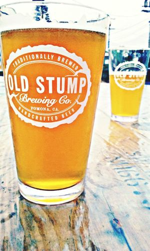 Old stump brewery. Working on my sunday afternoon. . Beer Time Beer Me Please Beer O Clock SundayFunday Sunday Afternoon Old Stump Brewery Lovemylife LoveMyWork Photography Photooftheday Pomona