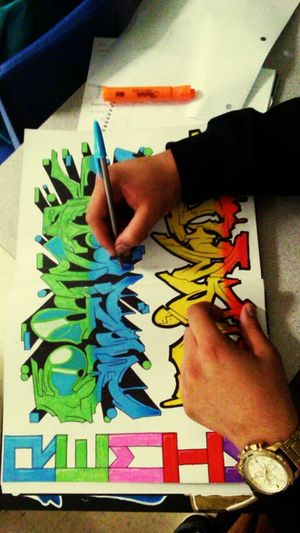 Make Magic Happen Graffiti