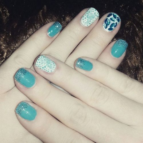 👸💅👑💍Nails Nail Fashion Style Cute Beauty Beautiful Instagood Pretty Girl Girls Stylish Sparkles Styles Gliter Nailart  Art OPI Photooftheday Essie Unhas Preto Branco Rosa Love shiny polish nailpolish nailswag